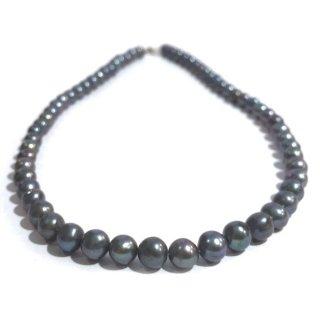 本真珠のネックレス(ブラック) ☆数量限定品