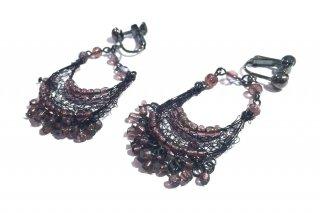 OUTLET チェコガラスビーズのイヤリング 参考価格¥12,000→¥3,500 *サンプル放出品
