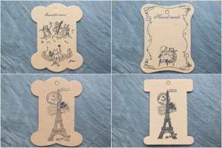 糸巻・台紙(3枚セット・全4種)