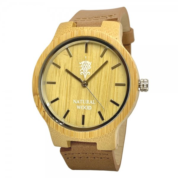 EINBAND Luft Bamboo レザー木製腕時計 40mm【限定生産】