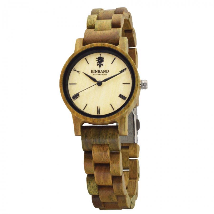 EINBAND Reise Green Sandalwood(緑壇) 木製腕時計 32mm