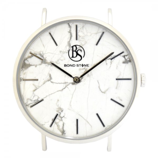 BOND STONE SHINE 天然石腕時計 アラベスカートコルキア 40mm