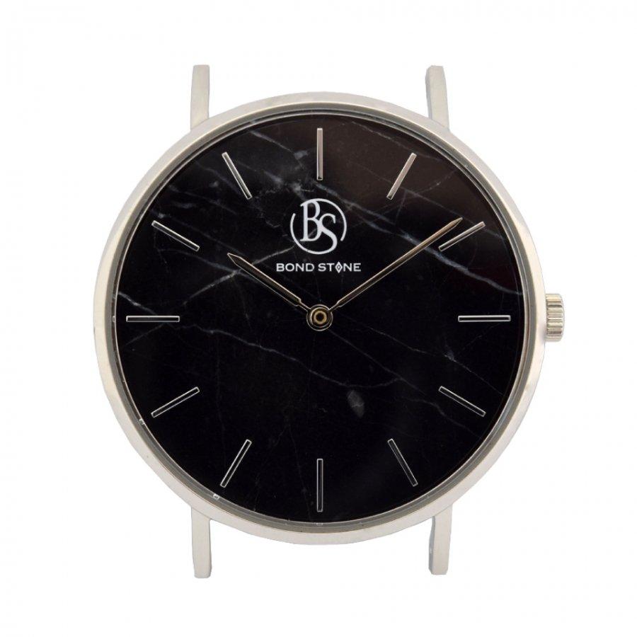BOND STONE SHINE 天然石腕時計 ブラックマルキーナ 36mm