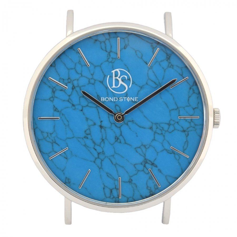 BOND STONE SHINE 天然石腕時計 ターコイズ 40mm