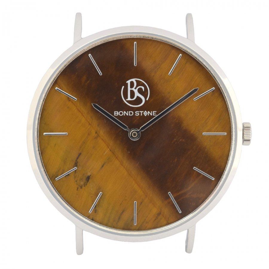 BOND STONE SHINE 天然石腕時計 タイガーアイ 40mm