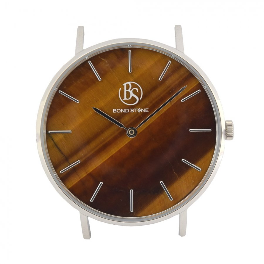 BOND STONE SHINE 天然石腕時計 タイガーアイ 36mm