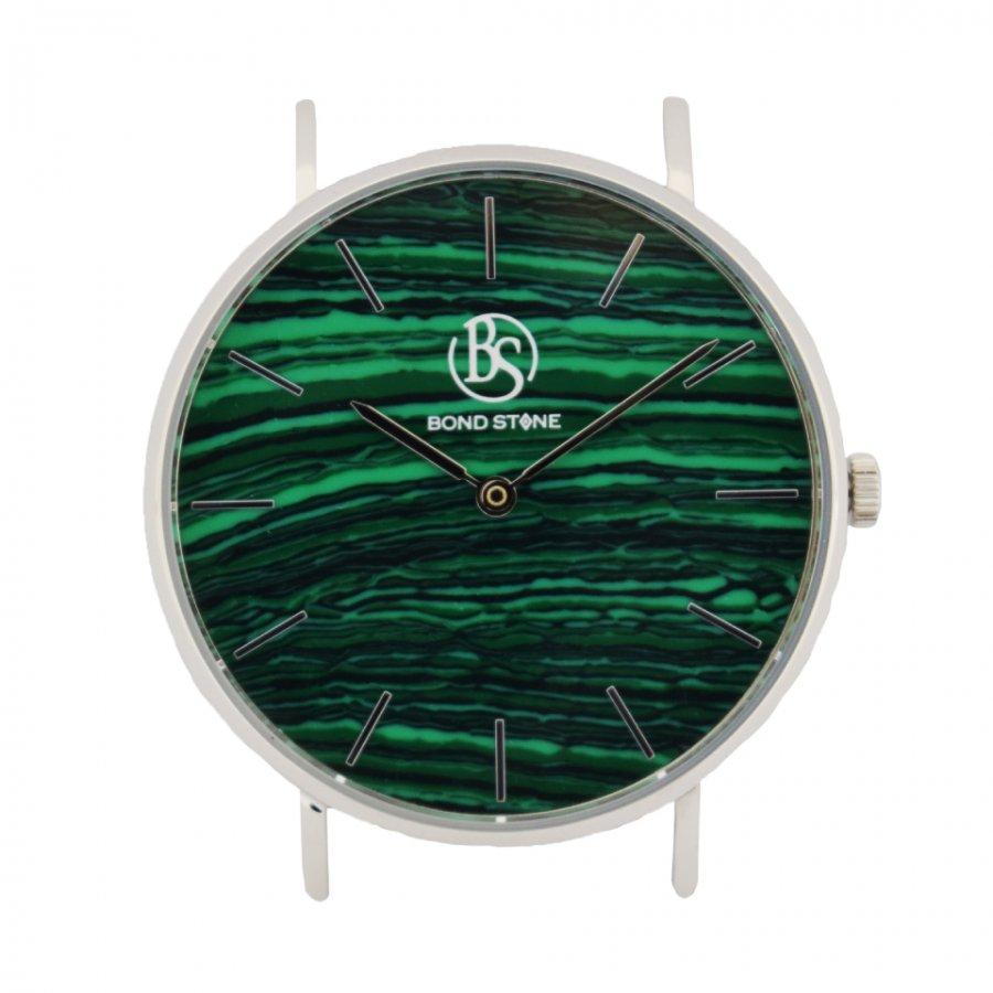 BOND STONE SHINE 天然石腕時計 マラカイト 36mm