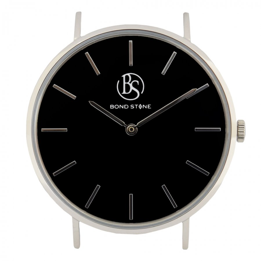 BOND STONE SHINE 天然石腕時計 オニキス 40mm