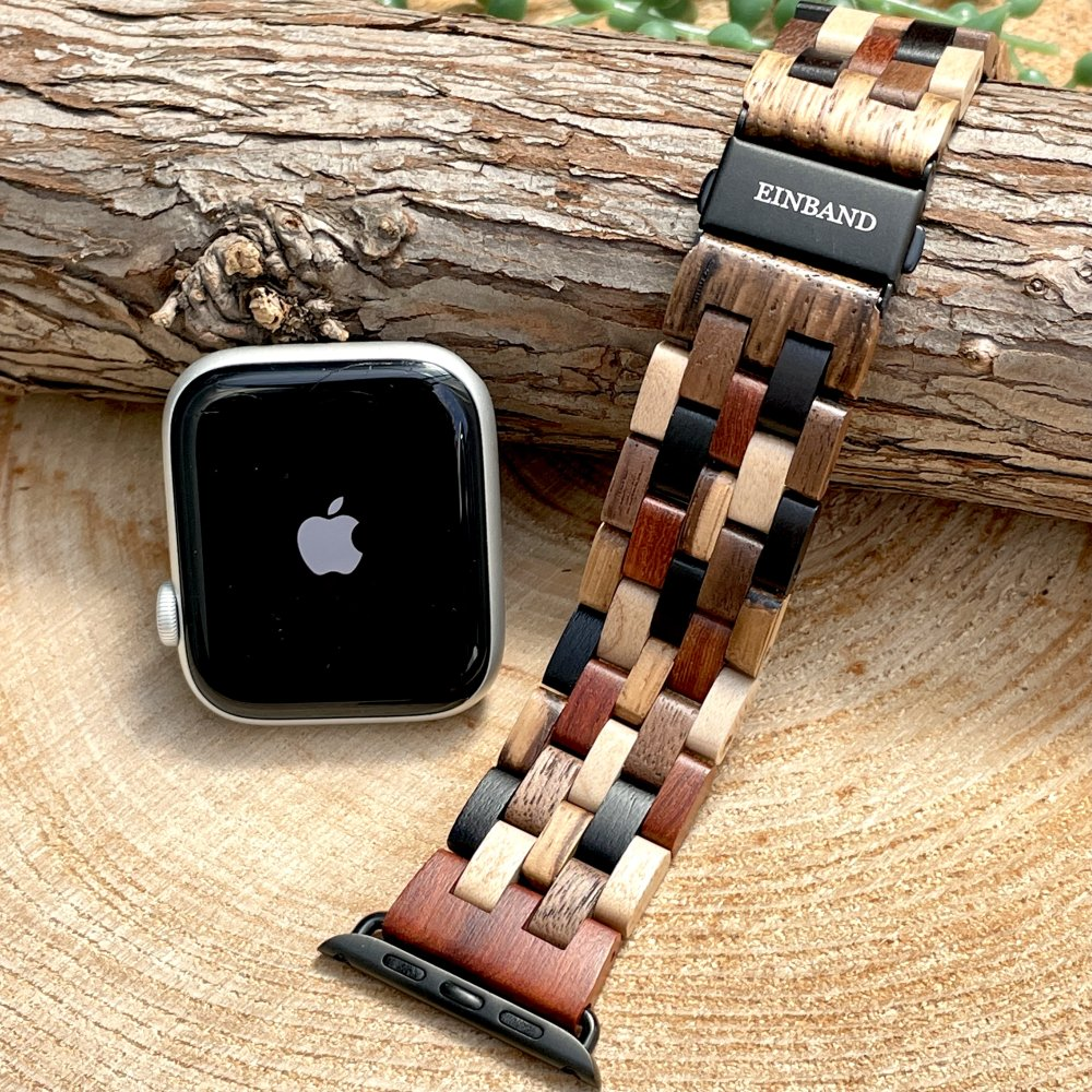 EINBAND AppleWatch 天然木バンド Mix Wood