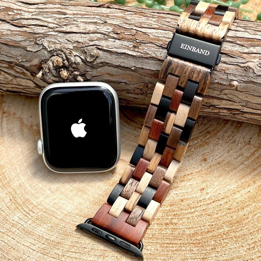 EINBAND AppleWatch 天然木バンド Mix Wood