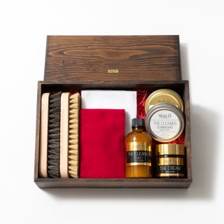 Brift H SHOESHINE GIFT BOX 【BLACK 黒色セット】