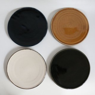 フラット皿(砥部焼)