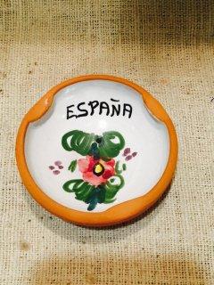 スペイン 陶器のミニ灰皿 ESPANA