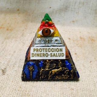 メキシコ オラシオン レインボーピラミッド プロビデンスの目 金運 小