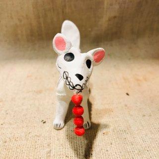 メキシコ 紙粘土 ガイコツ犬