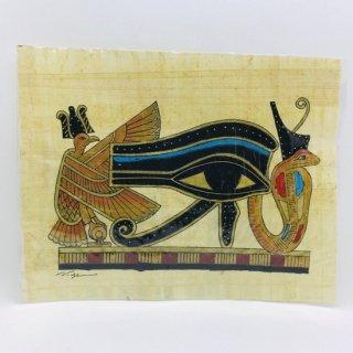 エジプト パピルス画 E ホルスの目