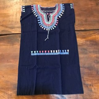 メキシコ 手刺繍ワンピース 子供用 ウィピル NV
