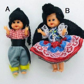 ポルトガル 民族衣装?の人形マグネット