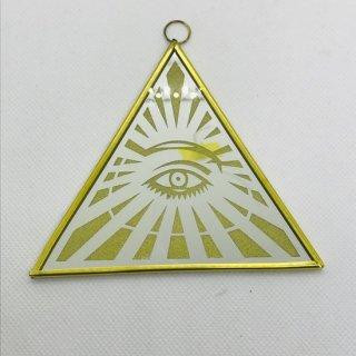 メキシコ 魔除けの鏡 オラシオン フリーメイソン プロビデンスの目 ピラミッド