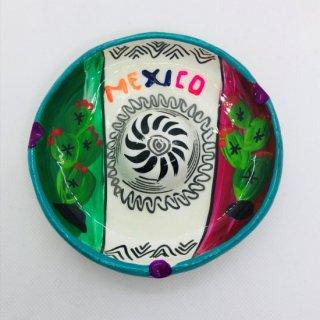 メキシコ ソンブレロの灰皿 陶器 D