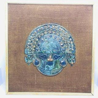 ペルー トゥミの銅板 アンティーク