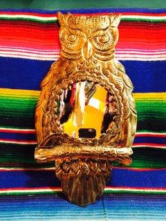 メキシコ オハラタの鏡 フクロウ プレーン