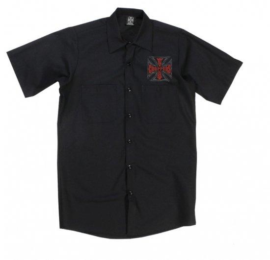 ウェブクロスワークシャツ