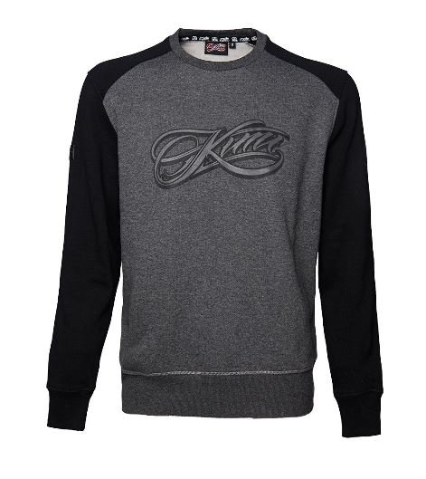 <img class='new_mark_img1' src='//img.shop-pro.jp/img/new/icons16.gif' style='border:none;display:inline;margin:0px;padding:0px;width:auto;' />KIMI SCRIPT LOGO - RAGLAN SWEATER