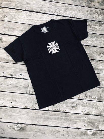 OGクロス Tシャツ-ブラック/ホワイト