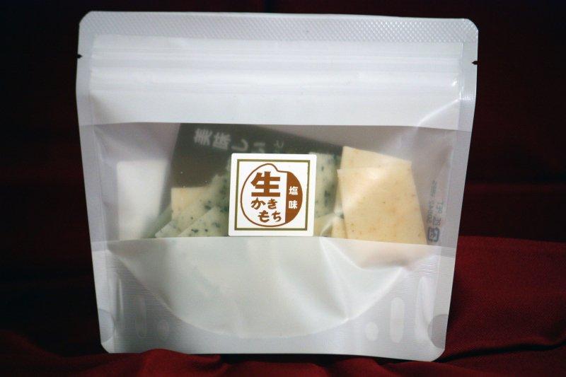 生かきもち 80gスタンドパック 塩味(えび・のり・ごま)