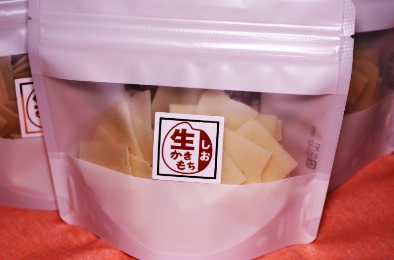 SOBOKUシリーズ SIO塩かきもち「生」 80gスタンドパック
