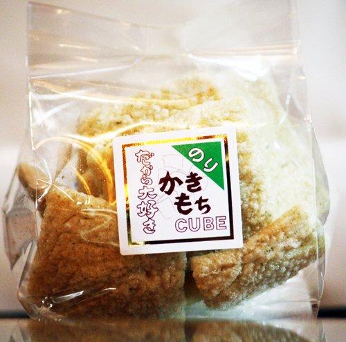 かきもちキューブ のり 食べきりサイズ 40g よりどり楽しく 手土産にも最適 米屋の本格おかき