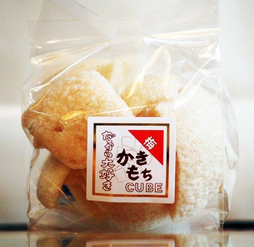 かきもちキューブ 梅 食べきりサイズ 40g よりどり楽しく 手土産にも最適 米屋の本格おかき