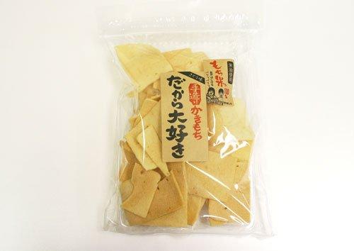 かきもち 大袋 【砂糖味】 大容量160g チャック付袋 お徳用 だから大好き 創業よりの味わい