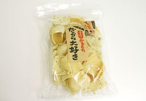 かきもち 大袋 【塩味】 大容量160g チャック付袋 お徳用 だから大好き 創業よりの味わい
