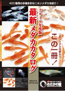 通常販売!10冊以上〜 2016年度版メダカカタログ(宅急便) vol14