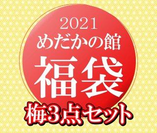 【2021めだかの館福袋】梅3点セット
