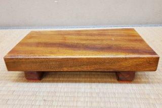 【村長現物】木工53 くすの木 無垢の花台