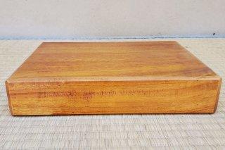 【村長現物】木工38 くすの木の一枚板の花台