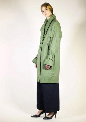 SUPER PINPOINT OXFORD CLOTH  COAT