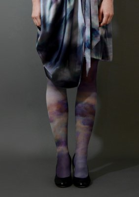 CLOUD Print tights