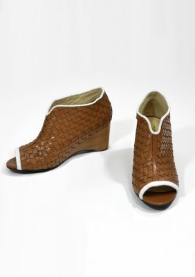 ≪NEW≫</br> Basket pattern open toe