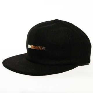 7UNION <br>S U METAL NEW BALL<br> SNAPBACK CAP(BLACK)