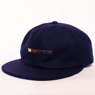 7UNION <br>S U METAL NEW BALL <br>SNAPBACK CAP(NAVY)