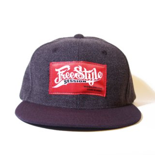 <img class='new_mark_img1' src='//img.shop-pro.jp/img/new/icons34.gif' style='border:none;display:inline;margin:0px;padding:0px;width:auto;' />FREESTYLE SESSION <br>WOOL SNAPBACK (GRAY)