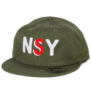 7UNION <br>NSY SNAPBACK CAP<br>(OLIVE)