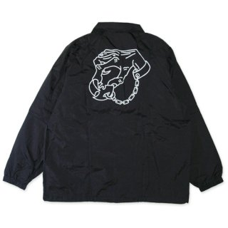 DESTROY TOYS <br>COACH JACKET(BLACK)