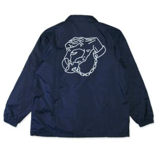 DESTROY TOYS <br>COACH JACKET(NAVY)