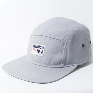 NAUTICA <br>5PANEL CAP(GRAY)<img class='new_mark_img2' src='//img.shop-pro.jp/img/new/icons47.gif' style='border:none;display:inline;margin:0px;padding:0px;width:auto;' />