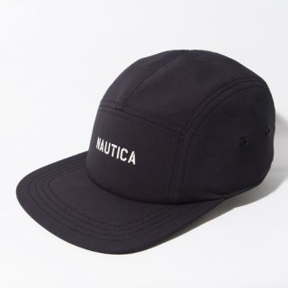 NAUTICA <br>NYLON 5PANEL CAP<br>(BLACK)<img class='new_mark_img2' src='//img.shop-pro.jp/img/new/icons47.gif' style='border:none;display:inline;margin:0px;padding:0px;width:auto;' />